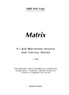 Matrix Software Install Guide